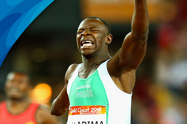 Gold Coast 2018: Nigeria's Galadima Claims Athletics Gold, Mozia Misses Medal