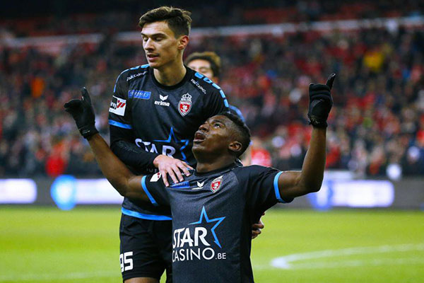 Awoniyi Named in Belgian Juplier League Of The Week