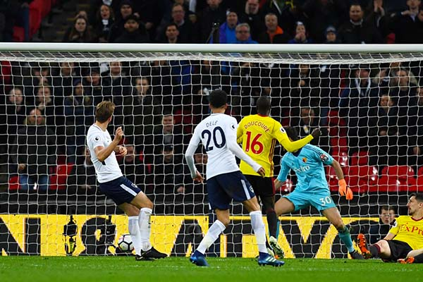 Kane Hits Goal No.27 As Spurs Beat Watford, Extend Lead Over Chelsea