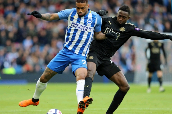 """Wasteful"" Ndidi Rated Average In Leicester Win Vs Brighton"