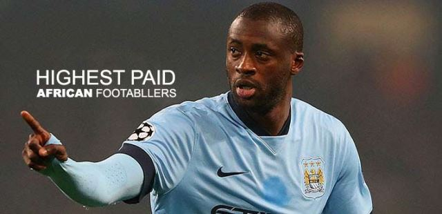 The Top Ten Highest Paid African Football Superstars