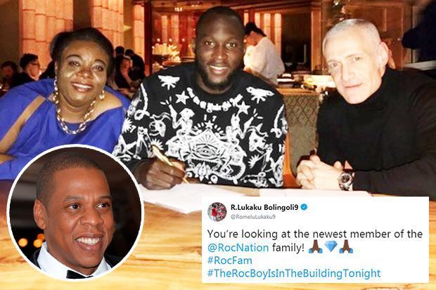 Jay-Z's Roc Nation Signs Lukaku; United Star Parts Ways With Raiola
