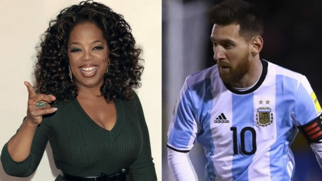 Messi Gets World Cup Advice From Talk Show Sensation Oprah Winfrey