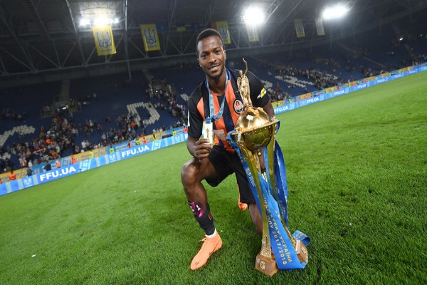 Kayode Set To Clinch Ukrainian Domestic Double With Shakhtar Donetsk