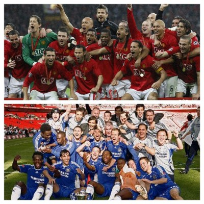 WEMBLEY SHOWDOWN: MAN UNITED 2-1 CHELSEA – Red Devils Edge Blues In Cup Finals