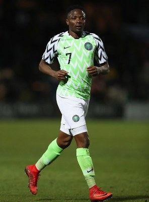 Musa: England Match Will Boost Eagles Confidence, We Want To Avoid Defeat
