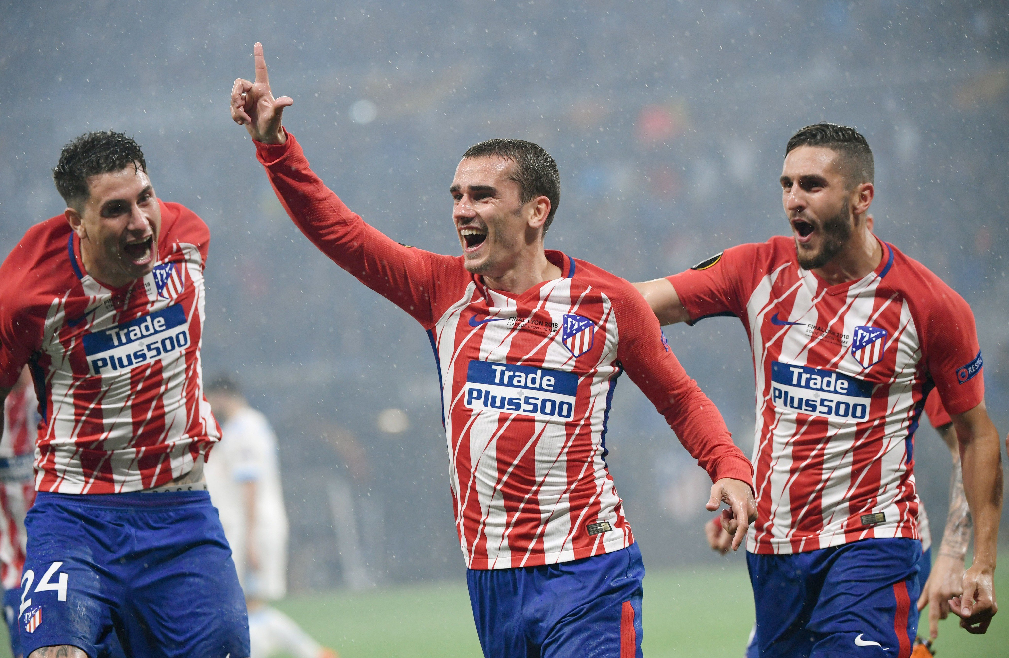 CHAMPIONS: Atletico Madrid Cruise Past Marseille To Win Europa League Trophy