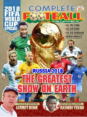 COMPLETE FOOTBALL World Cup Special Is Here!