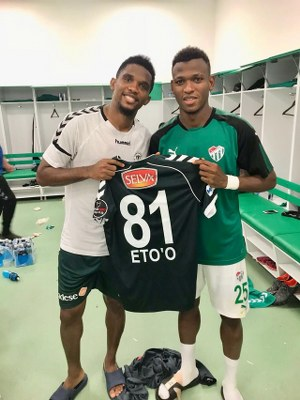 Abdullahi Thrilled To Feature In Bursaspor Win Vs Eto'o's Konyaspor