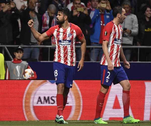 Europa: Atletico Knock Arsenal Out As Costa Spoils Wenger Farewell