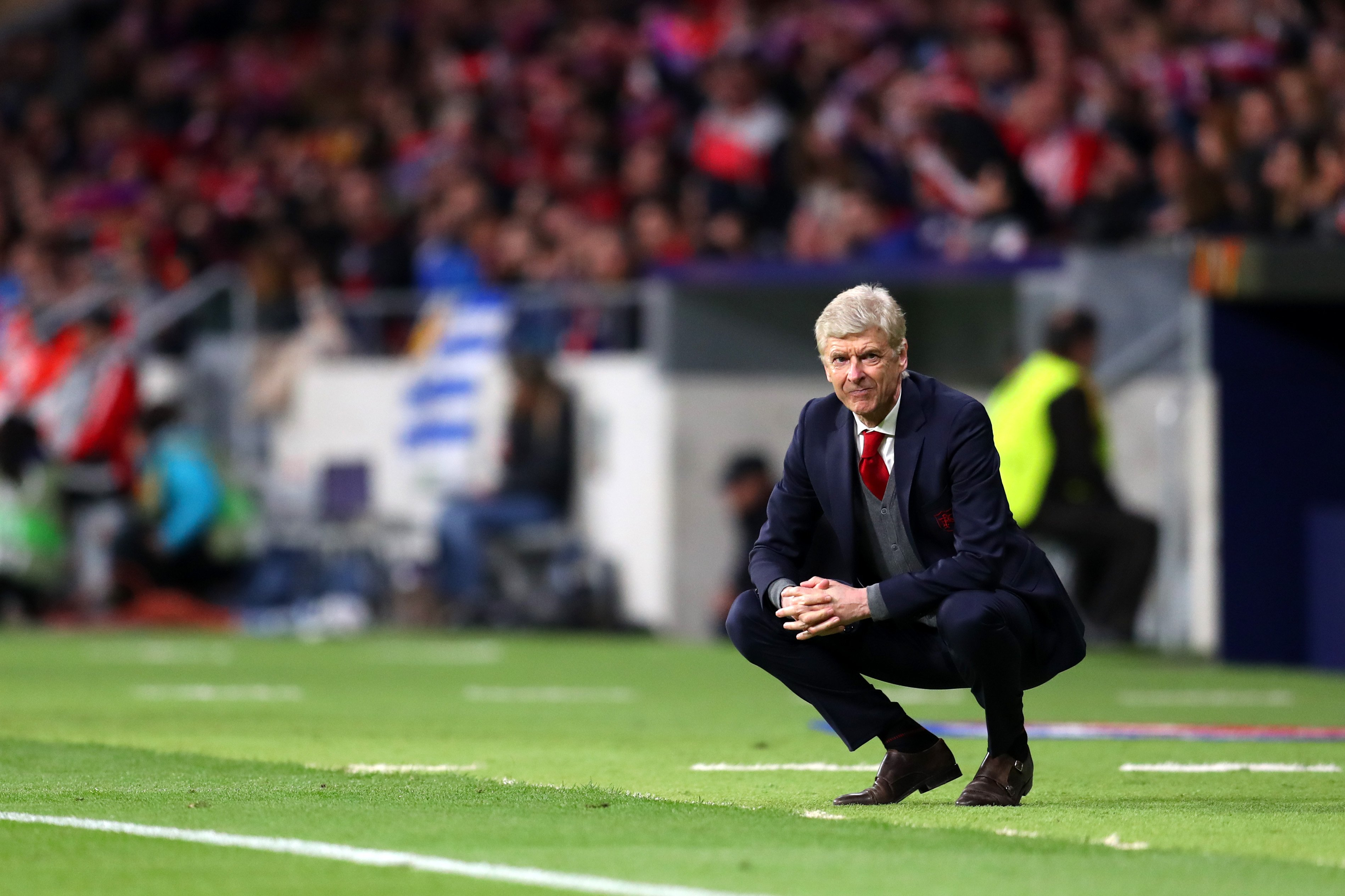 Europa League: Wenger Rues Arsenal's Wastefulness In Defeat To Atletico Madrid