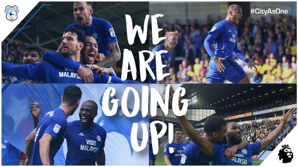 Cardiff Promoted To EPL As Aina, Aluko's Hull, Reading Survive; Akpan's Burton Relegated