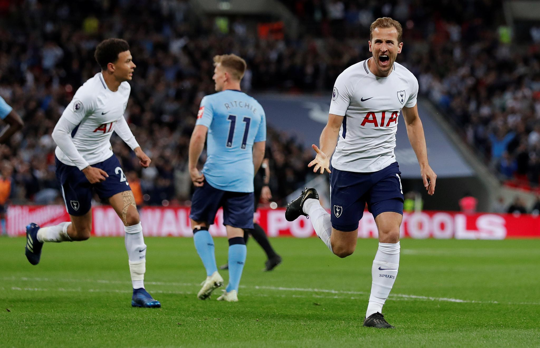 Man City Set New EPL Records As Spurs Secure Top Four Spot