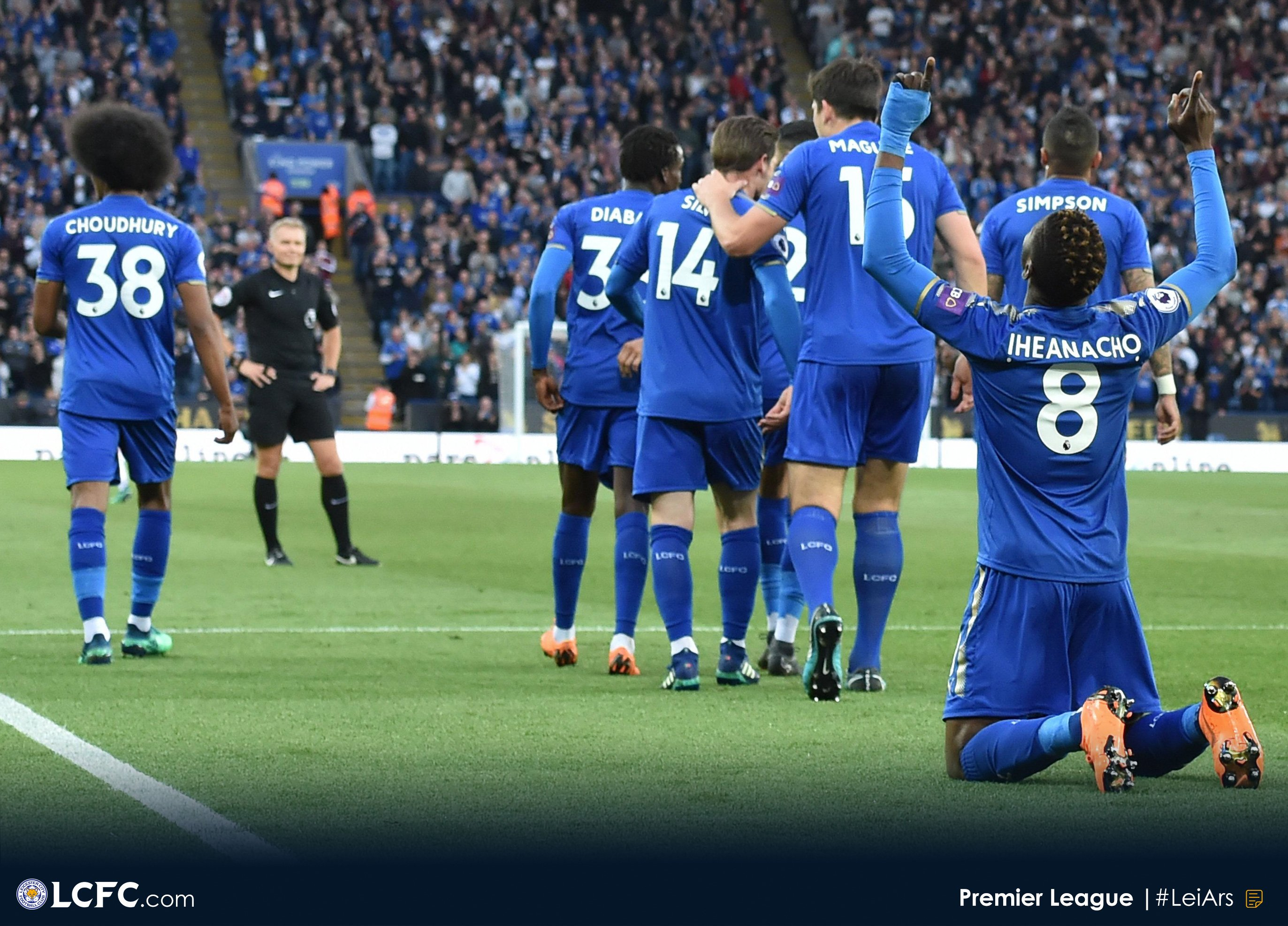 Ndidi Hails Leicester Teammates After Impressive Arsenal Win