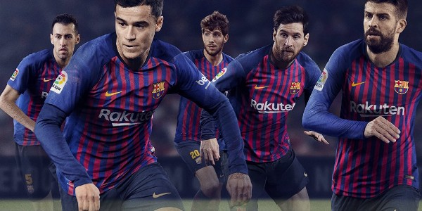 Barcelona Unveil New Home Kit For 2018/2019 Season