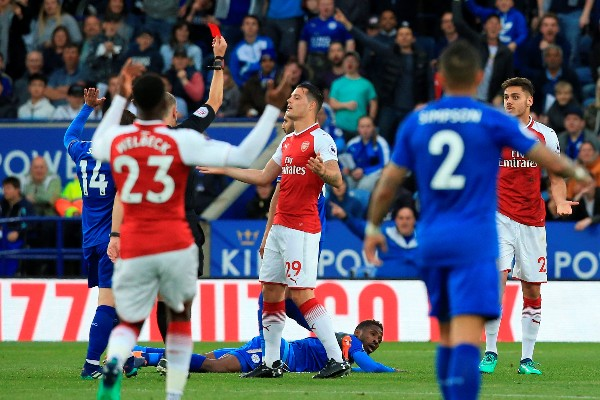 FA Fine Arsenal £20K Over Improper Conduct Vs Leicester