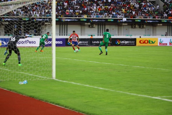 GOtv Max Cup: Nwakali, Torres On Target As Atletico Outscore Super Eagles