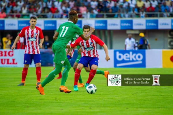 BEATEN BUT NOT DISGRACED: How Super Eagles Rated Vs Atletico Madrid