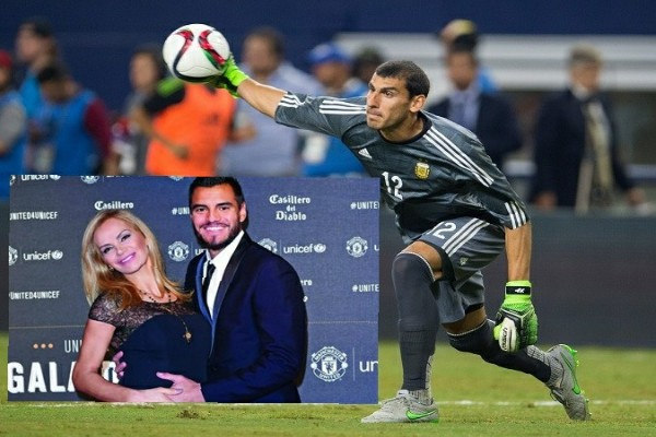Romero's Wife, Eliana: My Hubby's Injury Not Serious, Was Forced Out Of  Argentina W/Cup Squad