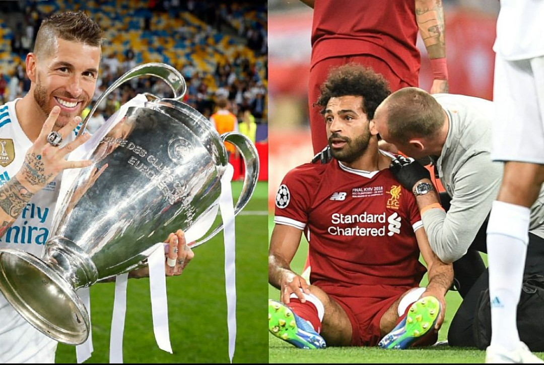 UCL: Ramos Wishes Depressed Salah Quick Recovery