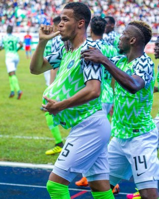 Troost-Ekong Dedicates First Super Eagles Goal To Unborn Baby Boy