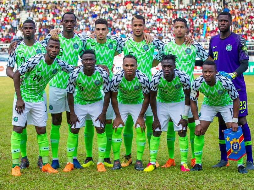 England Vs Nigeria: Eagles Depart For London Wednesday