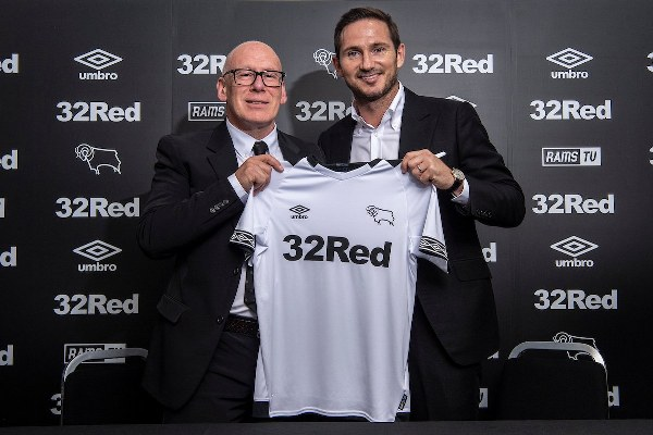 Lampard Confirmed As Derby County's New Manager
