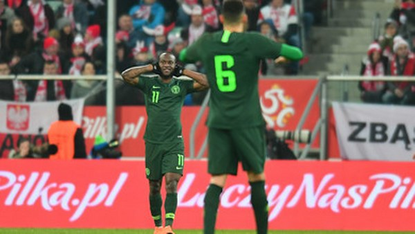 Full House As Moses Joins Super Eagles Camp Ahead Of England Friendly