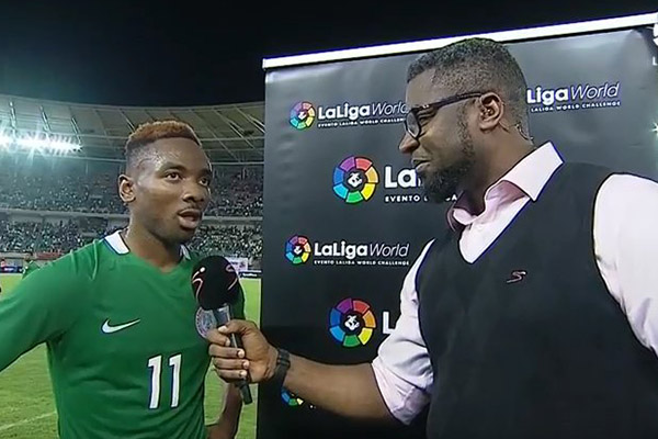 Nwakali Pleased With Super Eagles B Showing Despite Atletico Defeat, Expects  World Cup Success