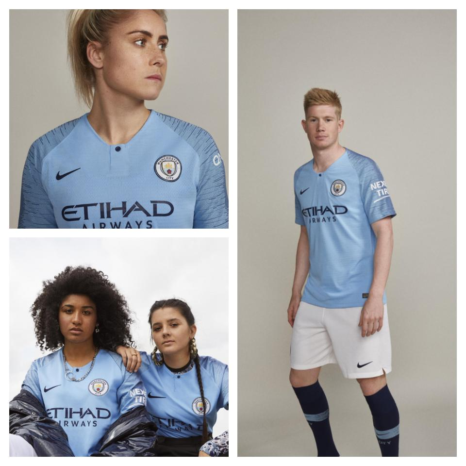 low priced 29125 491f0 Man City Launch New Home Kit For Next Season - Complete ...