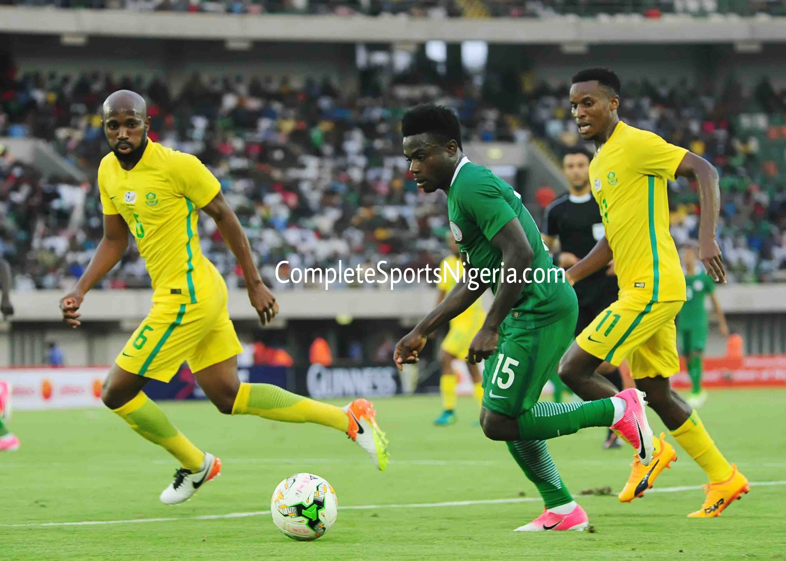 Siasia: Moses Simon Will Be A Big Miss In Russia