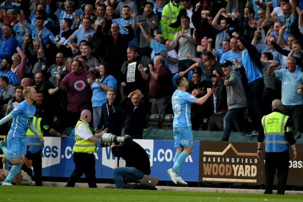 Ameobi's Notts County Eliminated In League 2 Play-Offs By Coventry