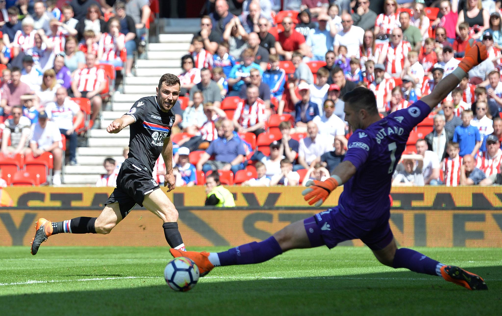 Stoke City Relegated From EPL After Crystal Palace Defeat