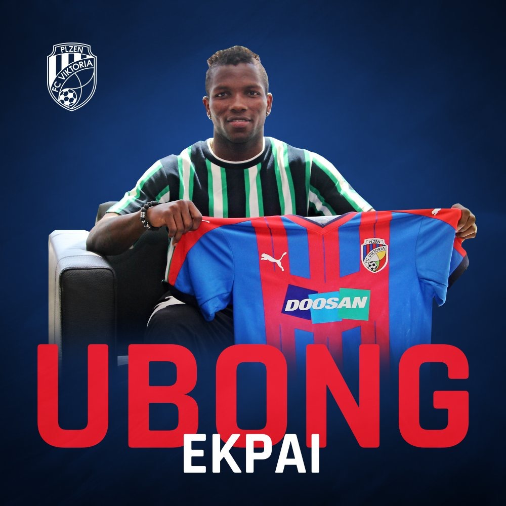 Czech Club Viktoria Plzen Sign Nigerian Midfielder Ekpai