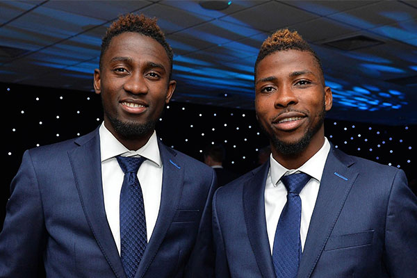 Iheanacho Celebrates Ndidi's Leicester Young Player Of The Year Award