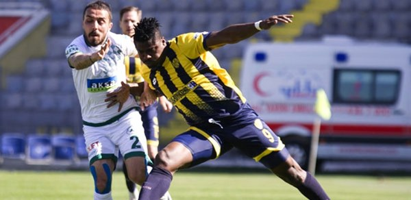 Kehinde Fancies Staying At Newly Promoted Turkish Super League Club Ankaragucu