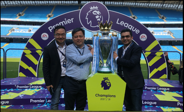 TECNO Celebrates Man City Premier League Title Winning In A Grand Style