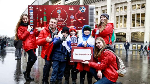 Half A Million Foreign Tourists Expected In Russia For 2018 FIFA World Cup