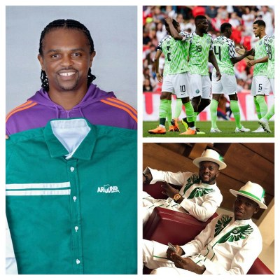 Kanu: Super Eagles Have Best World Cup Jersey, Must Believe, Play Best Football
