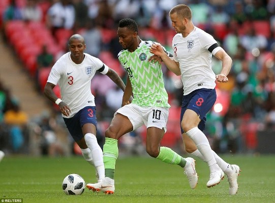 Mikel: England Can Go Far In Russia With Their Youthfulness And Energy