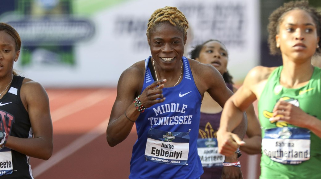 Osheku Athletics Academy Celebrates Egbeniyi's Historic NCAA Feat