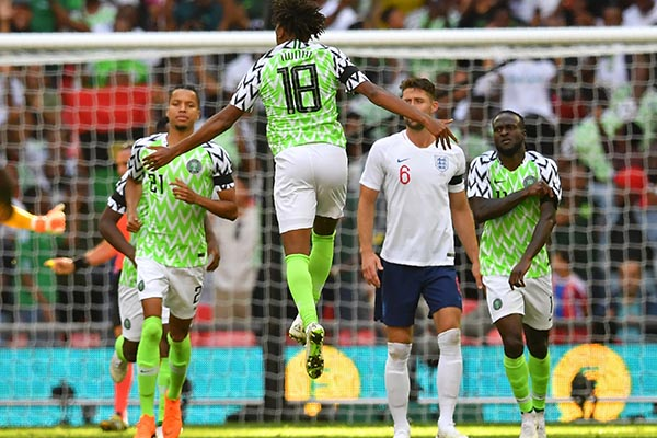 Rohr: How We Changed Tactics Vs England; Iwobi, Ndidi Fit For Czech Republic
