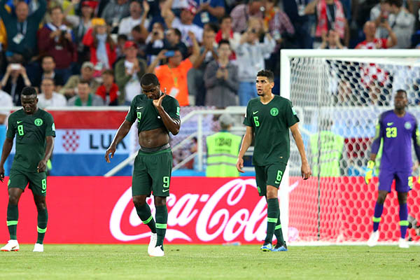Russia 2018: Super Eagles Gift Croatia Two Goals In Group D Defeat