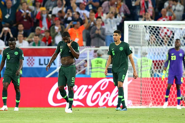 "Rohr ""Disappointed"" Super Eagles Lost To ""Better Team"" Croatia"