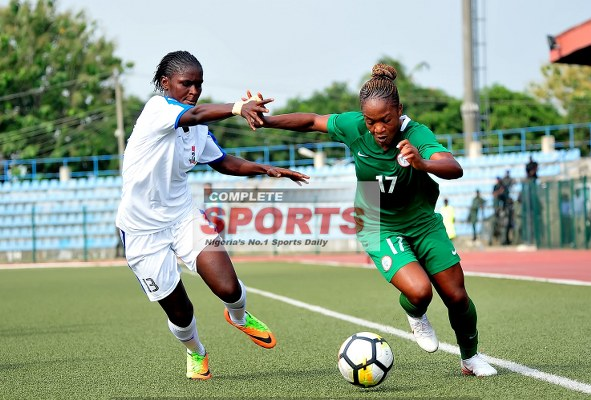 Washington Spirits Salute Ortega, Super Falcons Over 2018 AWCON Ticket