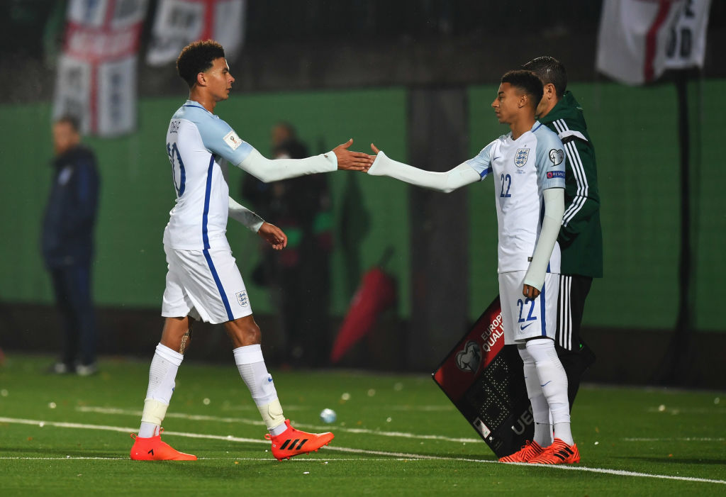 England Vs Nigeria: Southgate Hints Lingard, Alli May Start Against Eagles, Non-Committal On Starting Lineup