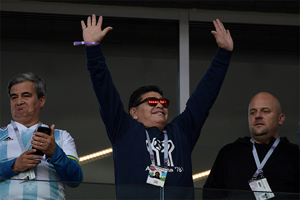 Maradona Insists He Is Fine After Health Scare