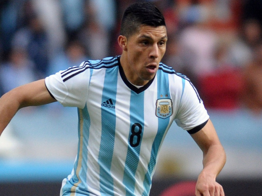 Argentina's Perez Ready To Step In For The Injured Lanzini