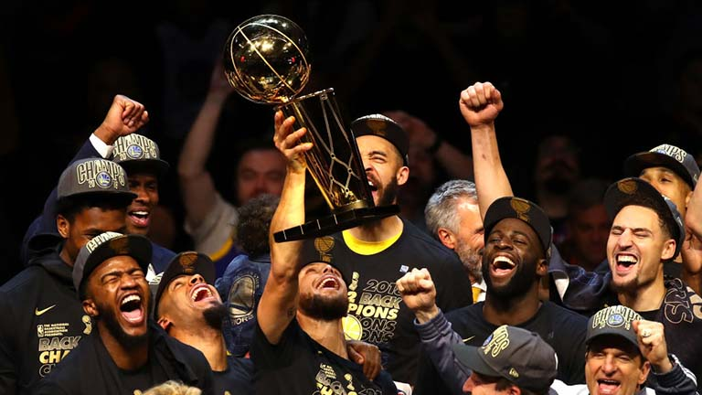 Warriors Sweep LeBron James' Cavs To Retain NBA Title