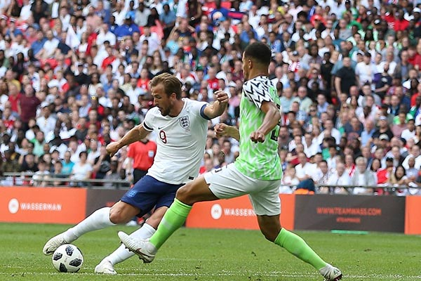 Kane: Super Eagles Gave England Trouble In Second Half